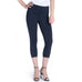 Lysse Indigo Stretch Denim Capri Legging Jegging High Waist Savvy Chic Boutique Cleveland Ohio