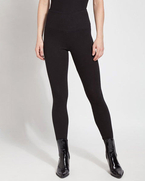 Lyssé Denim Legging - Black
