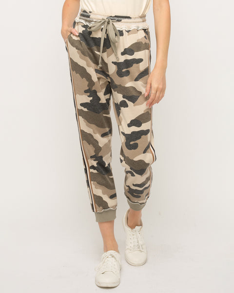Do Nothing Camo Jogger Pants
