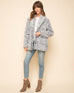 Navy Teddy Coat