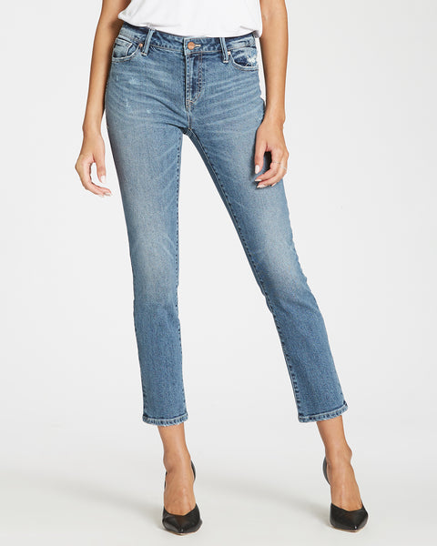 Dear John Denim Blaire Straight Ankle Mom Jeans