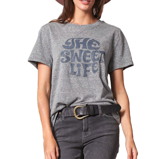 By Together The Sweet Life Graphic Tee Heather Grey T Shirt Savvy Chic Boutique Cleveland Ohio