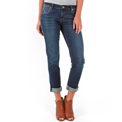 Catherine Boyfriend Jean Denim Easy Dark Wash Kut from the Kloth