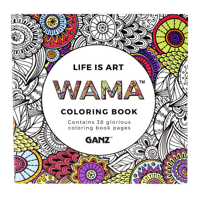 Detailed Coloring Book