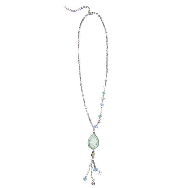 Droplet Necklace - Mint