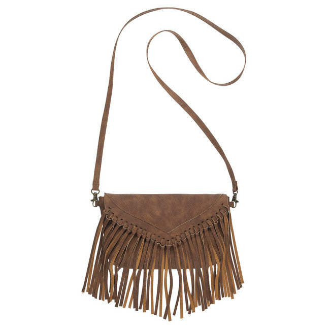 Fringe Flap Cross Body