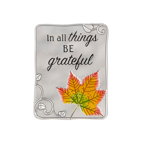 Fall Autumn Inspirational Metal Magnet Sign Plaque Savvy Chic Boutique Cleveland Ohio