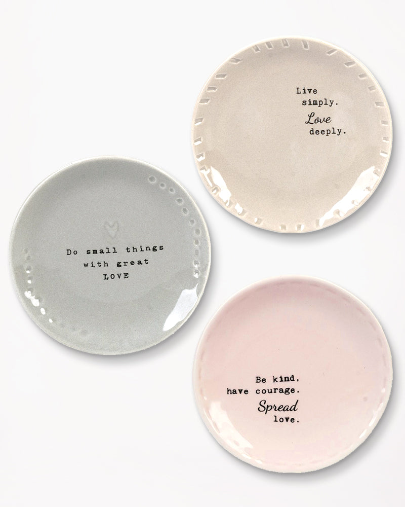 Loving Thoughts Trinket Dish