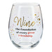 Friend Wine Glass Gift Savvy Chic Boutique Cleveland Ohio