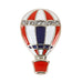 Red White Blue Rhinestone Hot Air Balloon Pin Savvy Chic Boutique Cleveland Ohio