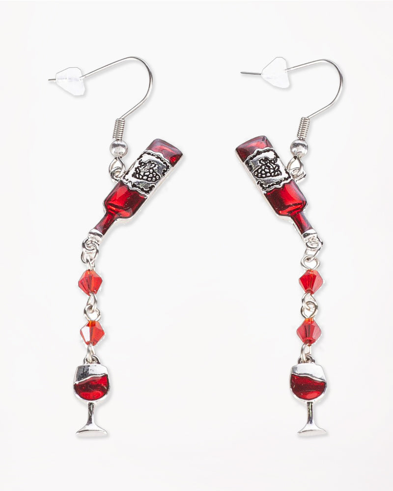 Time for Wine Earrings