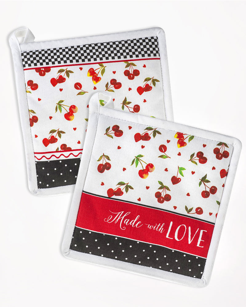 Made with Love Pot Holders