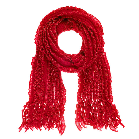 Sparkle Scarf - Red