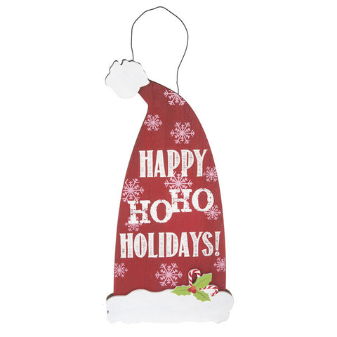 Ho Ho Holidays Sign