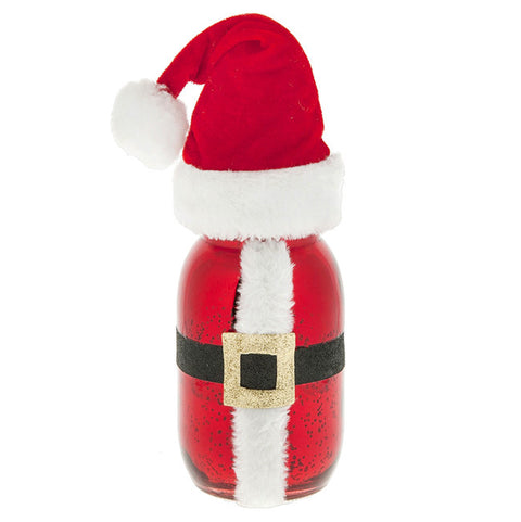 Light Up Santa Jar