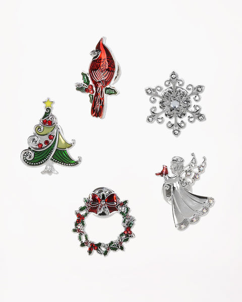 Christmas Joy Pins