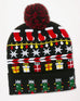 Christmas Holiday Knit Light Up Hat Gift Savvy Chic Boutique Cleveland Ohio