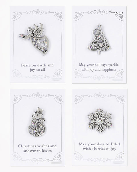 Elegant Christmas Pin