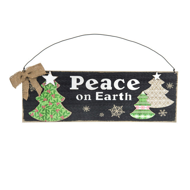 Peace On Earth Plaque