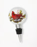 Light-Up Cardinal Bottle Topper