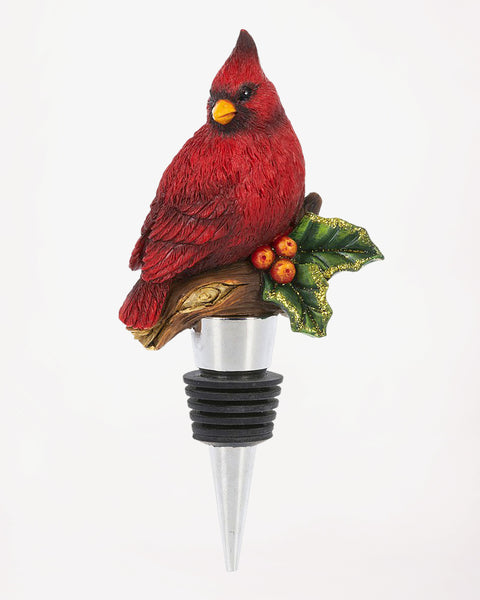 Christmas Holiday Cardinal Wine Bottle Topper Hostess Gift Savvy Chic Boutique Cleveland Ohio