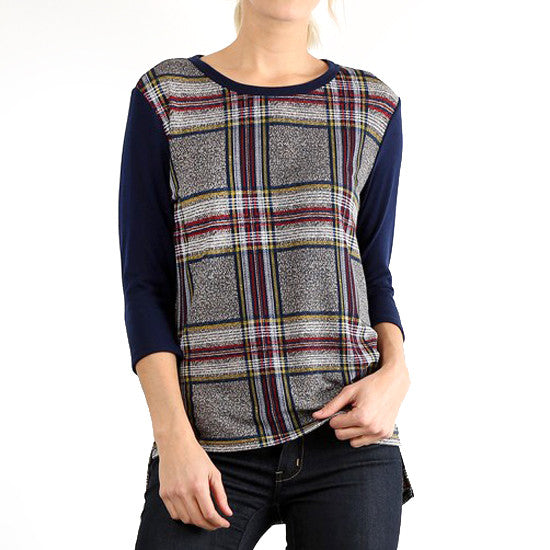 Perfect Plaid Tee