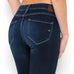 Hidden Jeans Released Hem Cropped Skinny Dark Wash Denim Savvy Chic Boutique Ohio