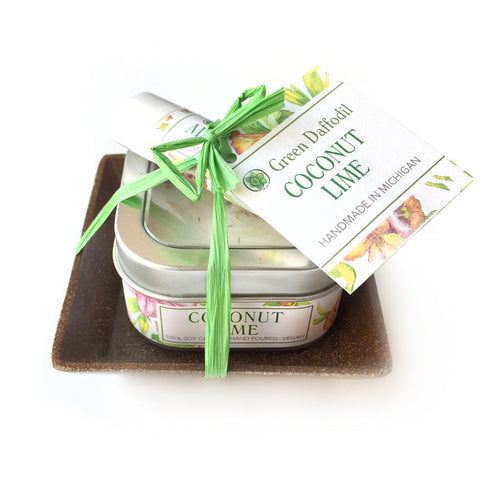 Lip Balm + Candle Set - Coconut Lime