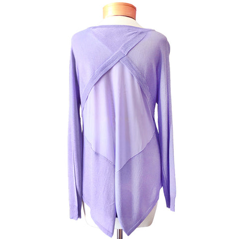 Lavender Purple Joelle Top Kerisma