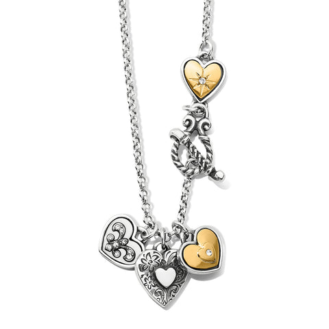 One Heart Short Necklace