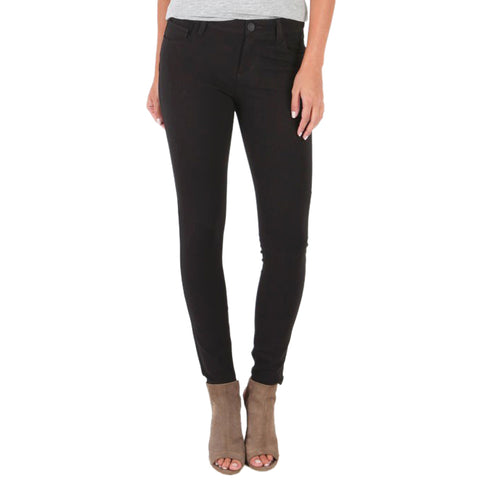 Kut from the Kloth Mia Skinny Black Stretch Ponte Knit Pants
