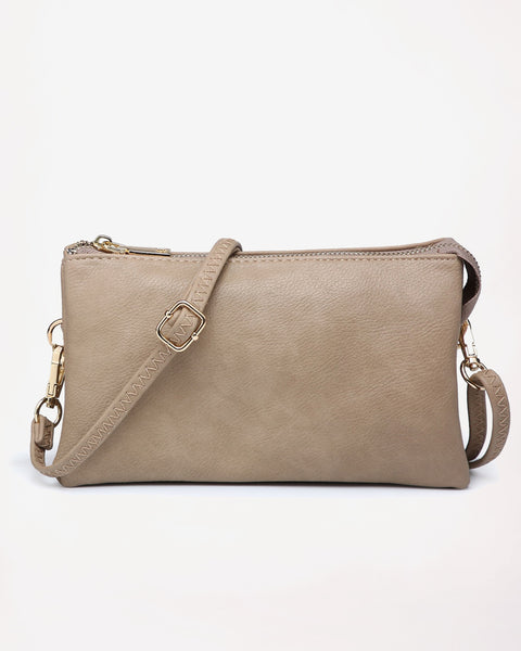 Jen & Co Vegan Faux Leather Crossbody Wristlet Purse Savvy Chic Boutique Cleveland Ohio