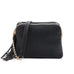 Jen & Co Black Faux-Leather Vegan Crossbody Handbag Savvy Chic Boutique Cleveland Ohio