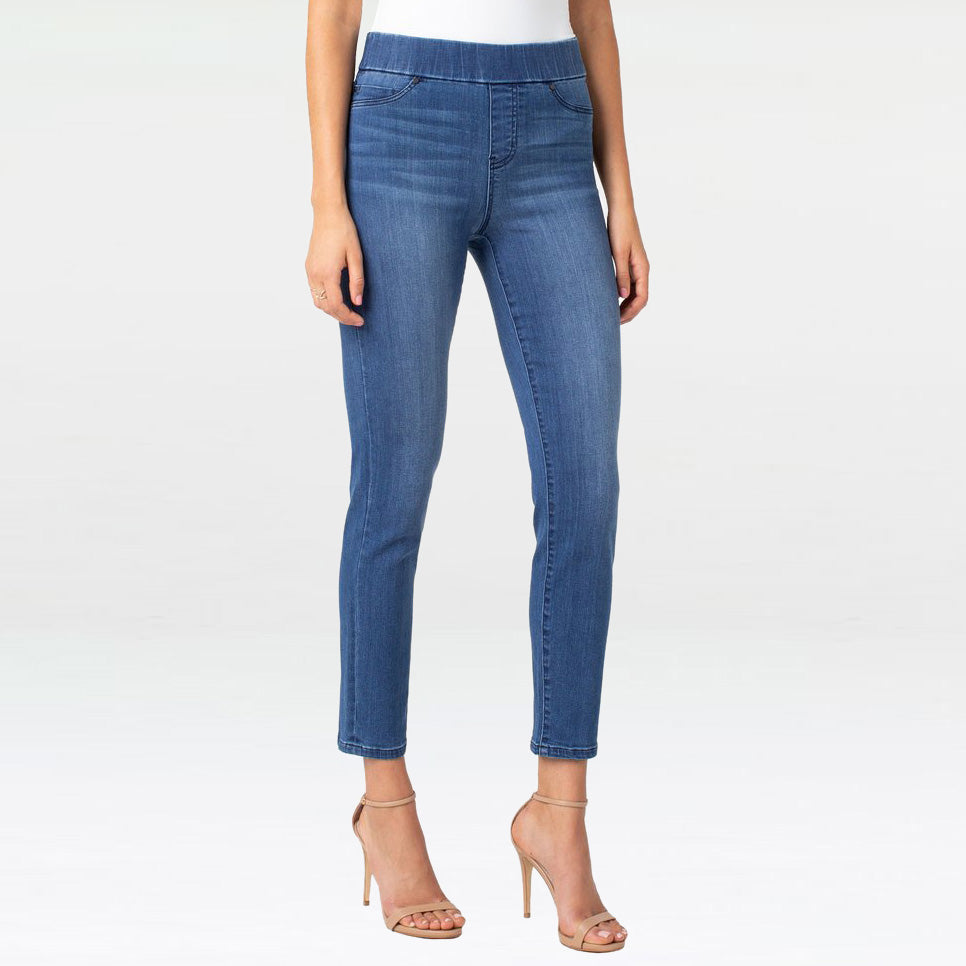 Liverpool Jeans Pull On Meredith Slim Ankle Harlow Wash Denim Savvy Chic Boutique Cleveland Ohio