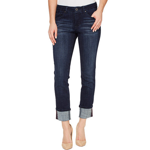 Maddie Skinny Jag Jeans Night Breeze Cropped Cuff Denim