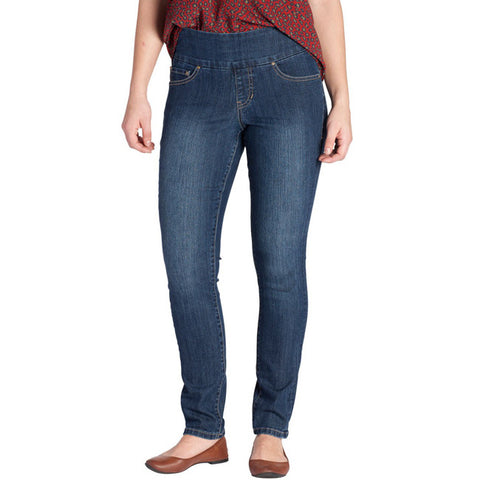 Jag Jeans Nora Pull On Skinny Anchor Blue Denim