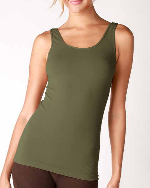 Basic Tank - Dusty Olive