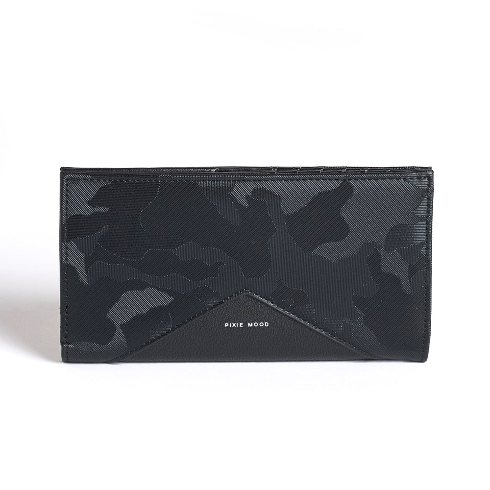 Sophie Wallet - Black Camo