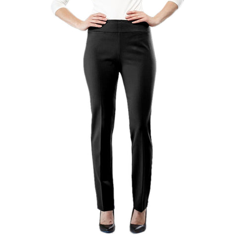 Insight Black Scuba Straight Leg Pants Savvy Chic Boutique Cleveland Ohio