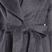 Ryu Charcoal Grey Faux Fur A-Line Belted Trench Coat Savvy Chic Boutique Cleveland Ohio