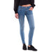 Rubberband Stretch Denim Sarina Cropped Skinny Boating Blue Wash Savvy Chic Boutique Ohio