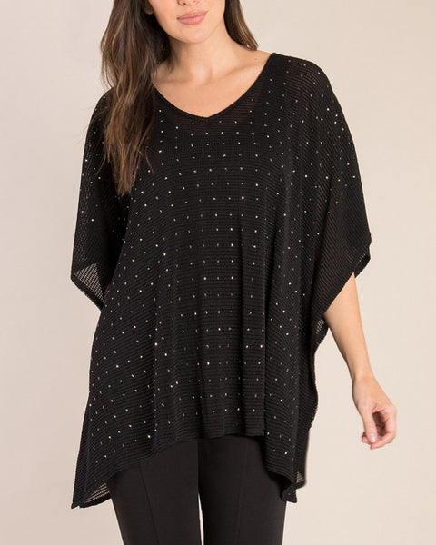 Studded Top - Black