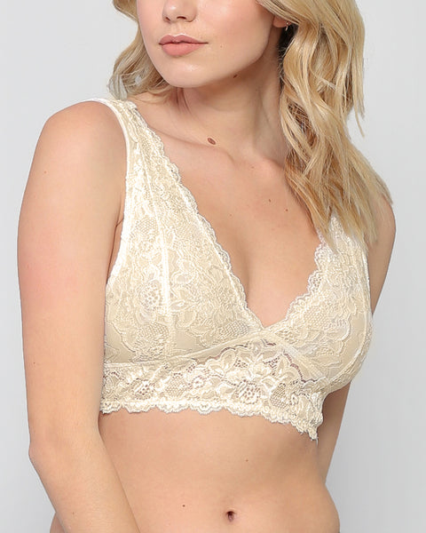 All I know Bralette - Cream