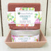 Natural Vegan Soy Candle Soap Gift Set Coconut Lime