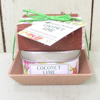 Soap + Candle Set - Coconut Lime