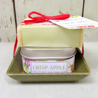Soap + Candle Set - Crisp Apple