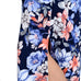 Tropical Floral Maxi - Navy