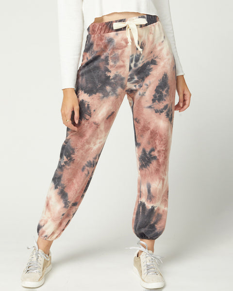 What's Goin' On Tie-Dye Joggers