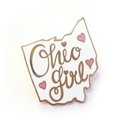 Ohio Girl Pin