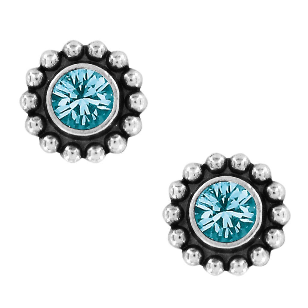 Twinkle Mini Post Earrings - Zircon